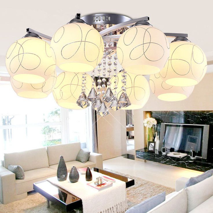 Find More Ceiling Lights Information About Modern Nordic Round Crystal LED Light Living Room Lamp Kitchen Fixtures Luminaria Avize