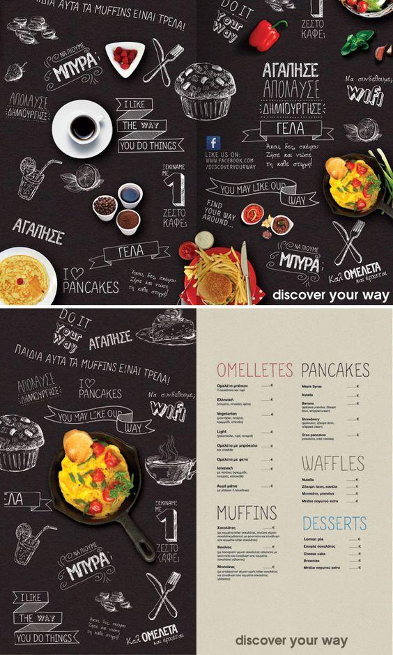 126 best menu images on Pinterest Menu layout, Cafe menu and - drinks menu template