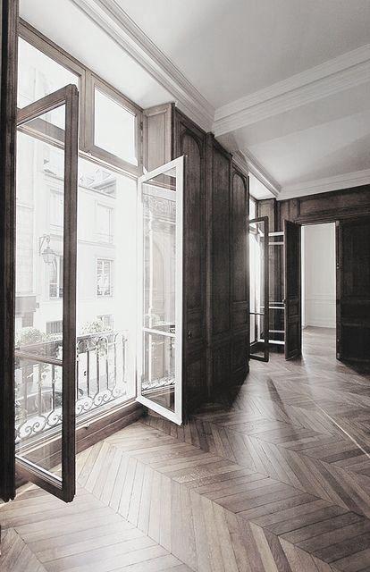 great floors, gorgeous windows
