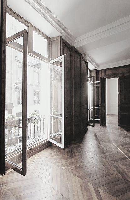 Gorgeous space windows floors and light !