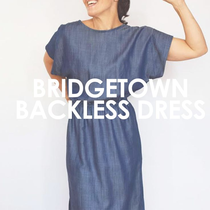 Bridgetown Backless Dress & Tunic – UpCraft Club