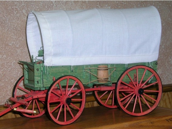 Covered wagon model plans woodworking projects plans for Covered wagon plans
