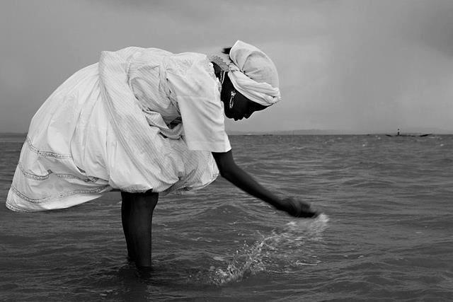 O mar serenou...