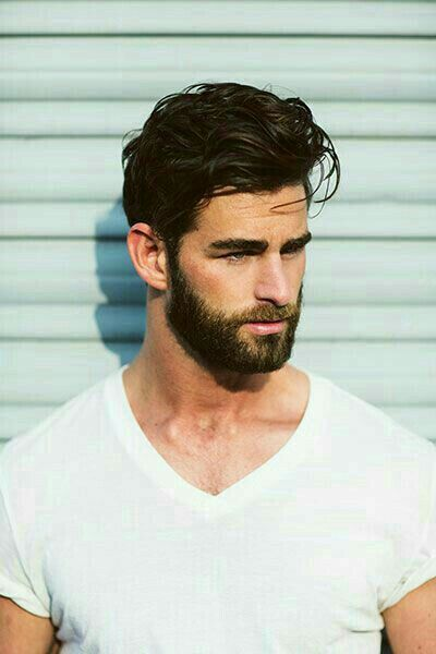 Mens Hairstyles With Beards 50 hairstyles for men with beards Find This Pin And More On Mens Hair Beard Grooming By Yesurawesome1