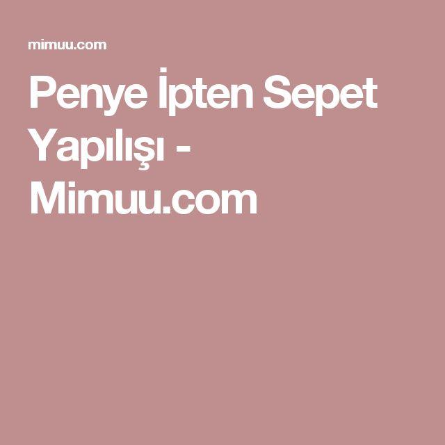 Penye İpten Sepet Yapılışı - Mimuu.com