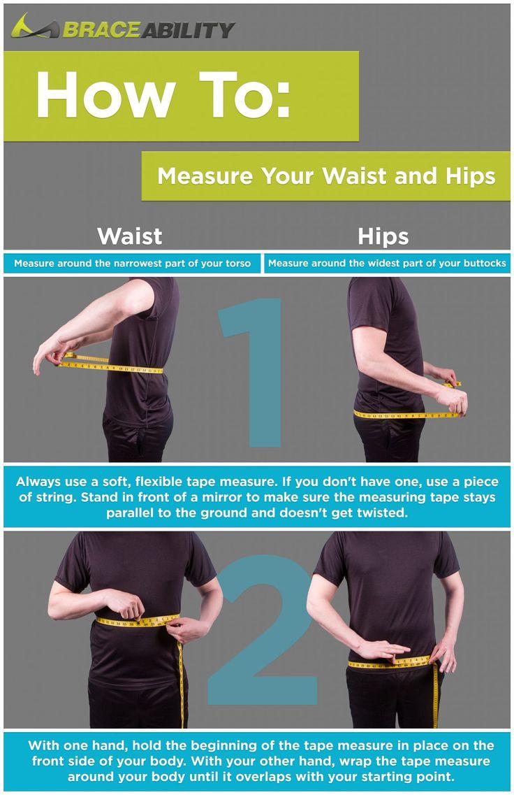 Hip vs waist measurement how where to measure