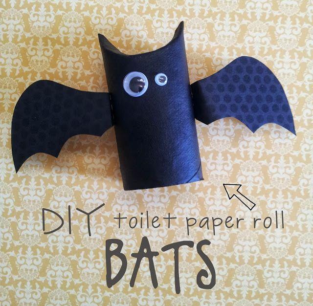 plain jane: diy toilet paper bat