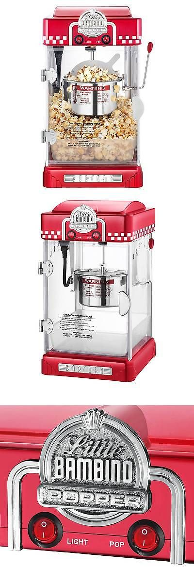 Popcorn Poppers 66752: Great Northern Popcorn S Little Bambino 2-1 2Oz Retro Style Popcorn Popper Ma... -> BUY IT NOW ONLY: $54.99 on eBay!