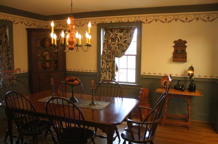 18th Century Early American Interior Design By Shiela M