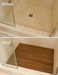 Adding Teak To Your Shower Floor 19 Affordable Decorating Ideas To Bring Spa Style To