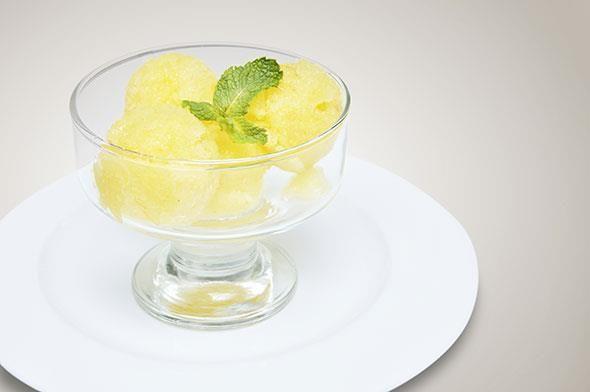 Recept voor meloensorbet zonder ijsmachine
