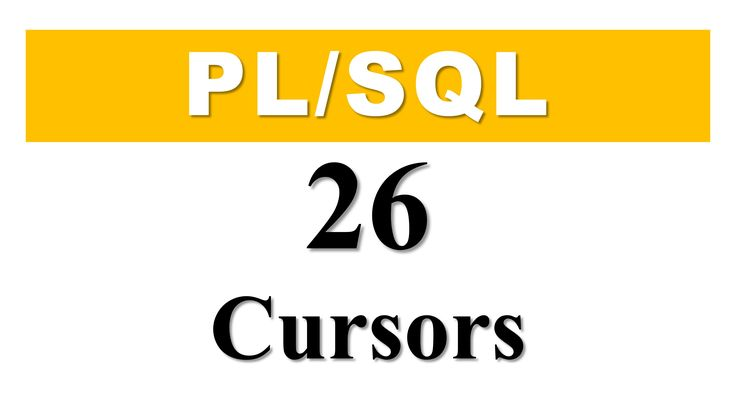 PL/SQL tutorial 26: What is Cursor in Oracle Database By Manish Sharma