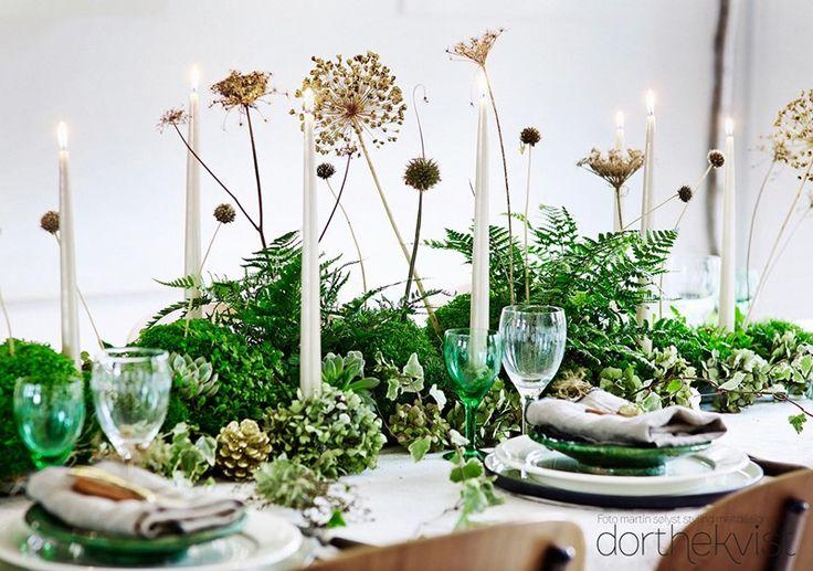 DIY:::Dæk et smukt nytårs bord - MeltdesignstudioMeltdesignstudio