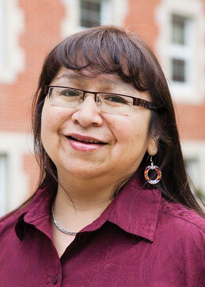 Dedication to language shapes Cree woman (Sweetgrass)