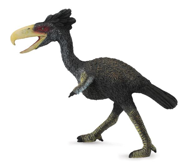 El kelenken es una especie extinta de ave gruiforme o ave del terror. Es el ave predadora más grande de la historia. Medía unos 3 metros de alto y tenía una cabeza enorme. Comía reptiles, roedores y pequeños mamíferos. Podía correr a 60 Km/hora. Vivió en el Mioceno, hace unos 15 millones de años.  Alto: 14,5 cm Largo: 19,5 cm Ref. 30392 Precio: 15.00 € IVA incluido