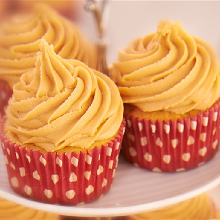 Try this Salted Caramel Cupcakes recipe by Chef Rachel Allen. This recipe is from the show Rachel Allen: All Things Sweet.