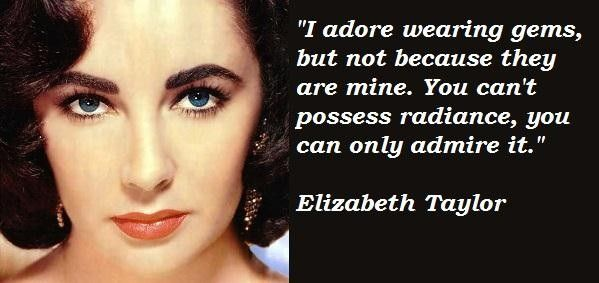 Elizabeth Taylor Quotes On Beauty. QuotesGram