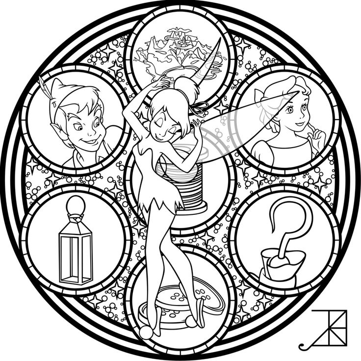 SG Tinkerbell Remastered Line Art By Akili Amethyst On DeviantArt Find This Pin And More Disney Adult Colouring