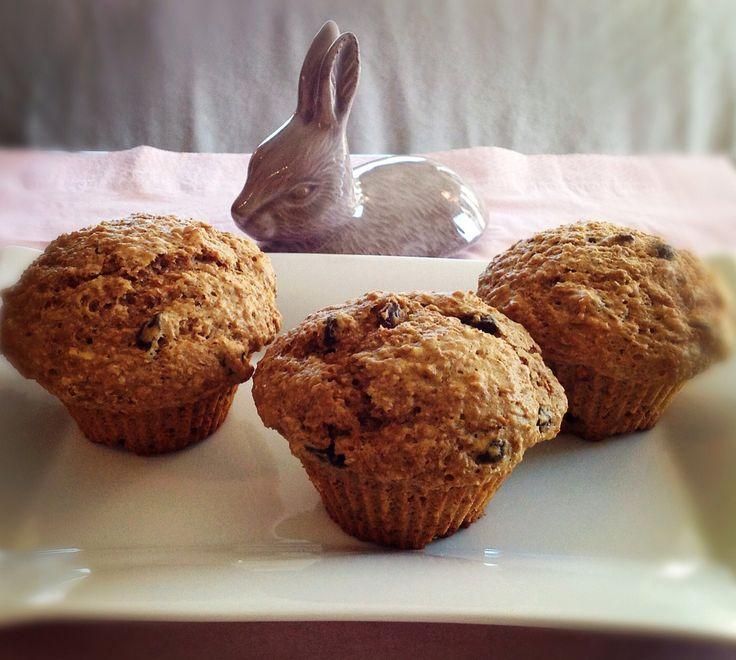 Muffins au son et raisins – LilliPop Girl
