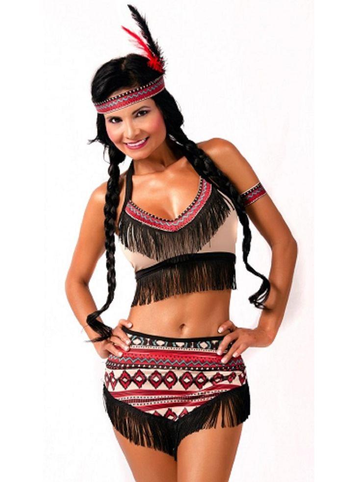 Disfraz de Pocahontas