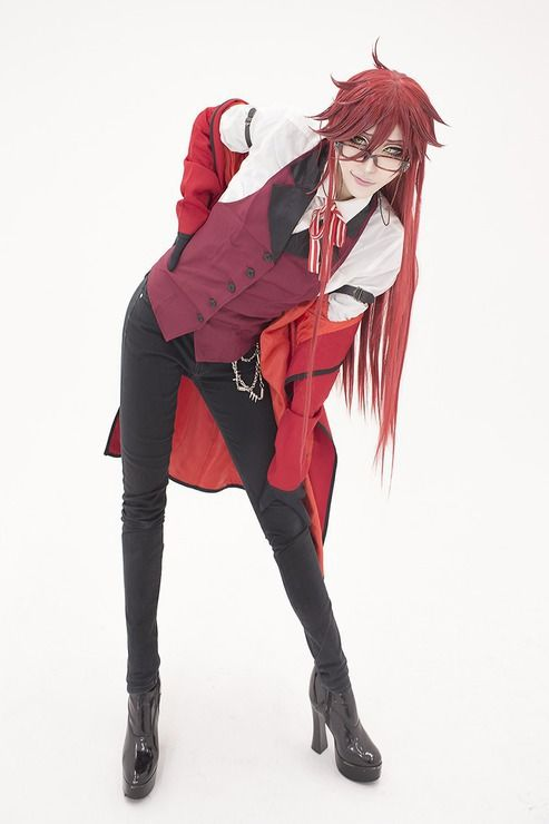 Grell Sutcliff (Black Butler) by Sakuya Source:worldcosplay