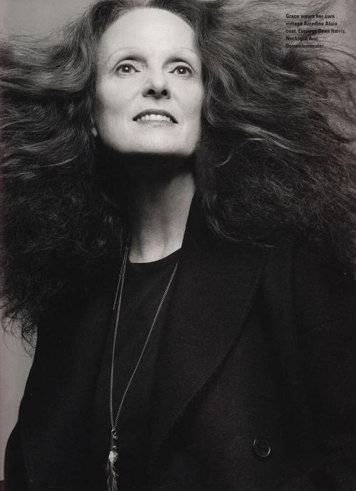 Grace Coddington - Art Director of US Vogue
