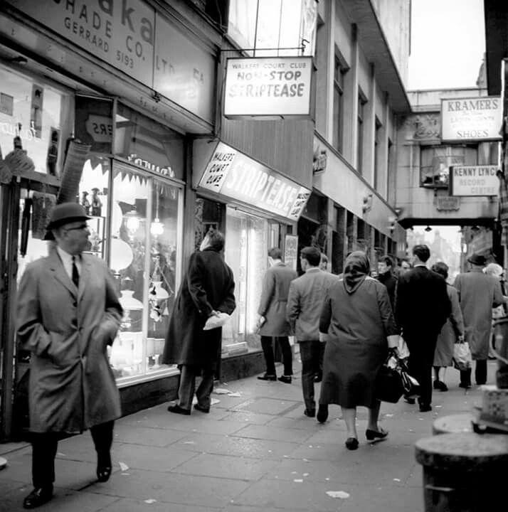 Walker's Court, Soho, London, 1966.