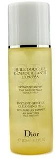 Christian Dior Instant Gentle Cleansing Oil for Unisex, 6.7-Ounce