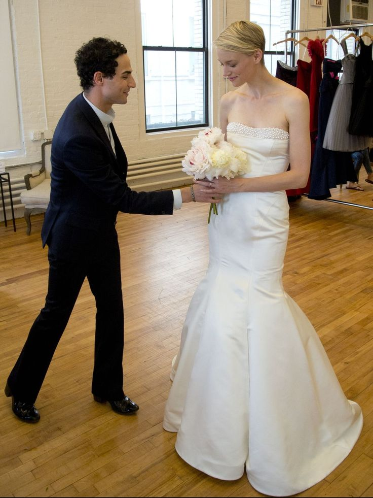 52 best images about fashion zac posen on pinterest for Zac posen wedding dress price