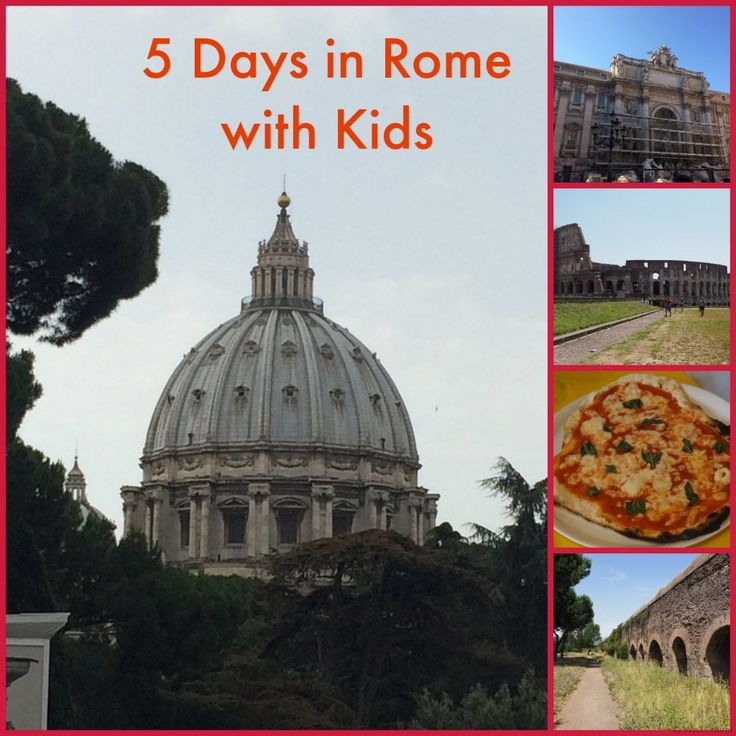 We recently spent 5 Days in Rome with Kids and I spent hours researching where to stay, what to do and where to eat. I'm sharing our Rome itinerary to help jumpstart your planning.