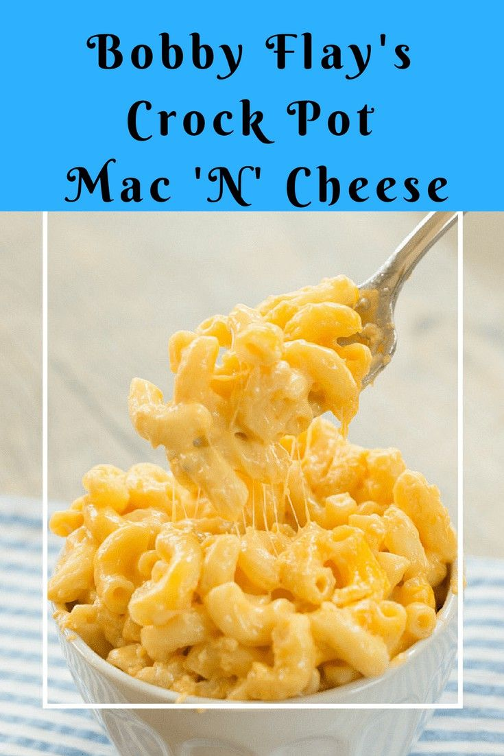 Bobby Flay Crock Pot Mac N Cheese Recipe Crockpot Mac And Cheese Healthy Brunch Recipes Christmas Brunch Recipes