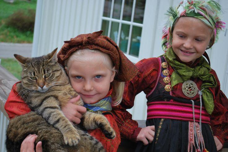 Traditional beltestakk from Heddal, Notodden, Norway.
