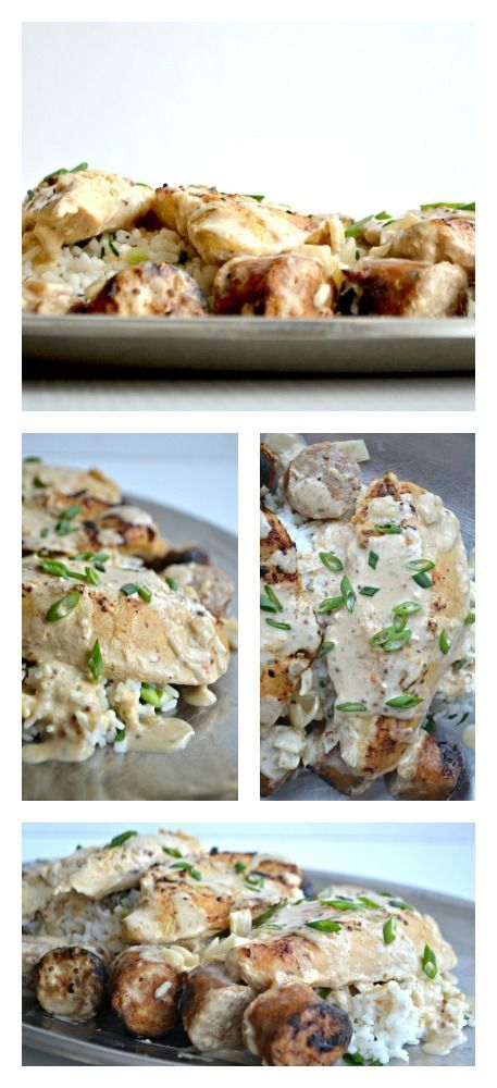 Knock Your Socks Off Creamy Slow Cooker Chicken and Sausage