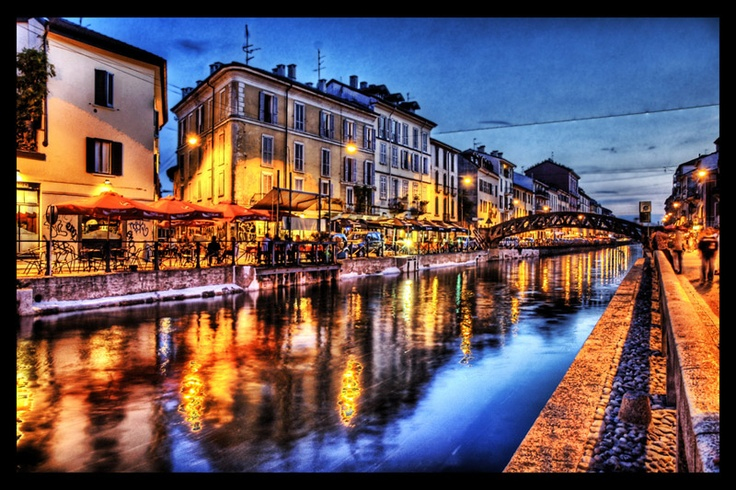 Navigli, Milano Italy
