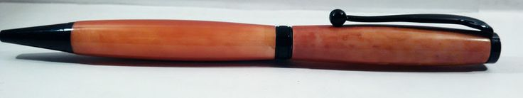 Penna a sfera fancy in resina colorata  di RegaliArtigianali su DaWanda.com