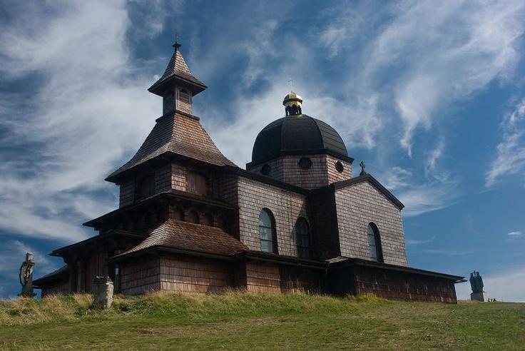 Cyril and Metoděj Chapel at the Radhošť Mountain, Czech Republic