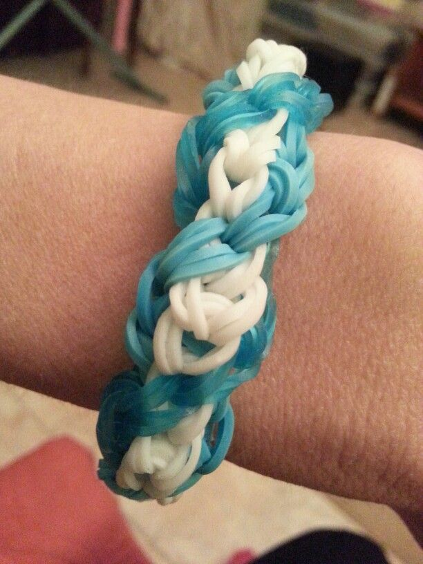 Rainbow Loom Swirl by Theresa Welsh