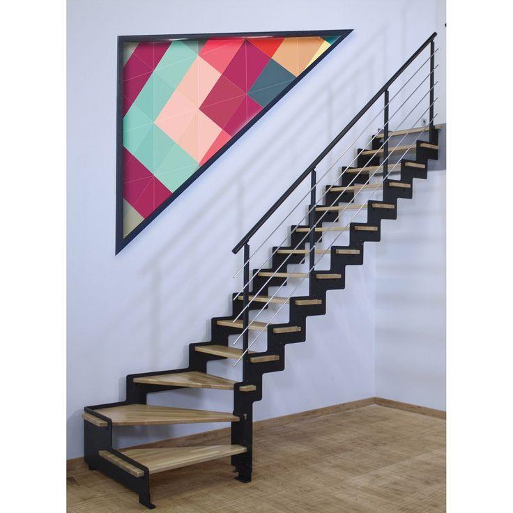 escalier quart tournant avantage