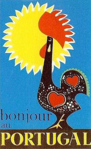 """""""Bonjour au Portugal by Vespeira - 1959"""