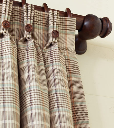 Kai curtain panel by Eastern Accents for boys' rooms.