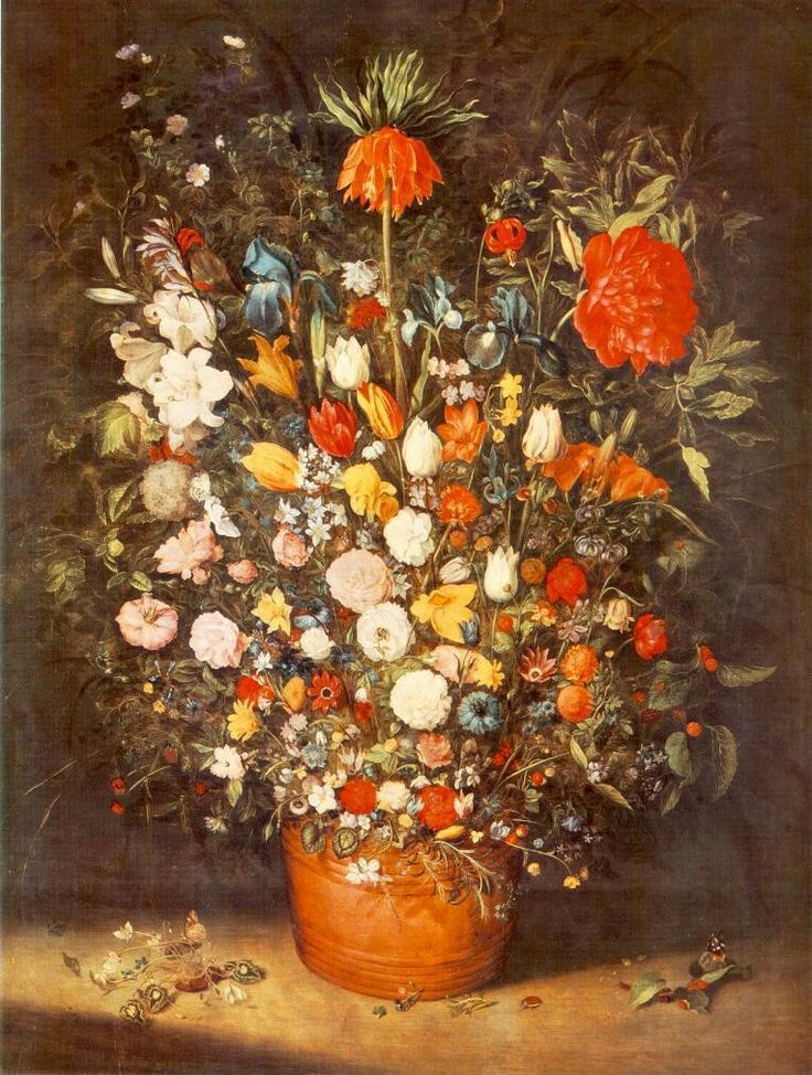 Bouquet 1603 Wood, 125 x 96 cm Alte Pinakothek, Munich