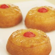 Pineapple Upside Down cakes--*Try using pineapple juice instead of water and butter instead of oil!