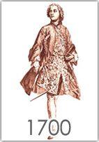 La moda maschile tra il 1700 e il 1750, con Luigi XV la moda diventa più sobria e si riempie di vezzi e di accessori di  ispirazione orientale