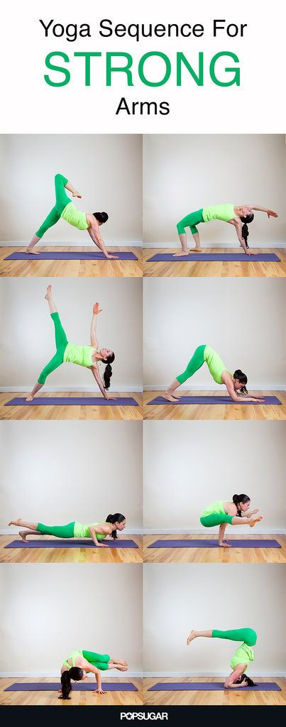 Combat Jiggly Arms With This Dynamic Yoga Sequence