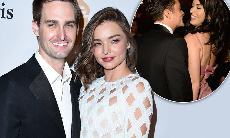 Miranda Kerr has revealed the close family dynamics between the estranged couple and their new partners, Evan Spiegel and Katy Perry. 'We're a modern family,' the 33-year-old said.