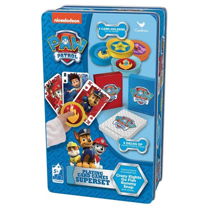 Paw Patrol 3D Card Game, Card Games