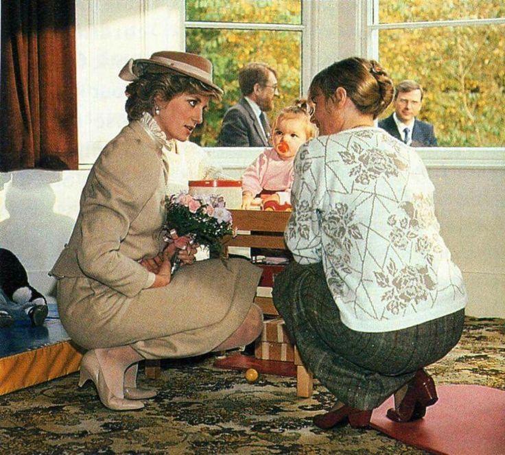 Princess Diana ♡ Humble & caring.
