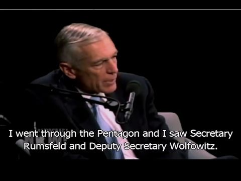 Plans for Middle East -  U.S.  Army Gen. Wesley Clark