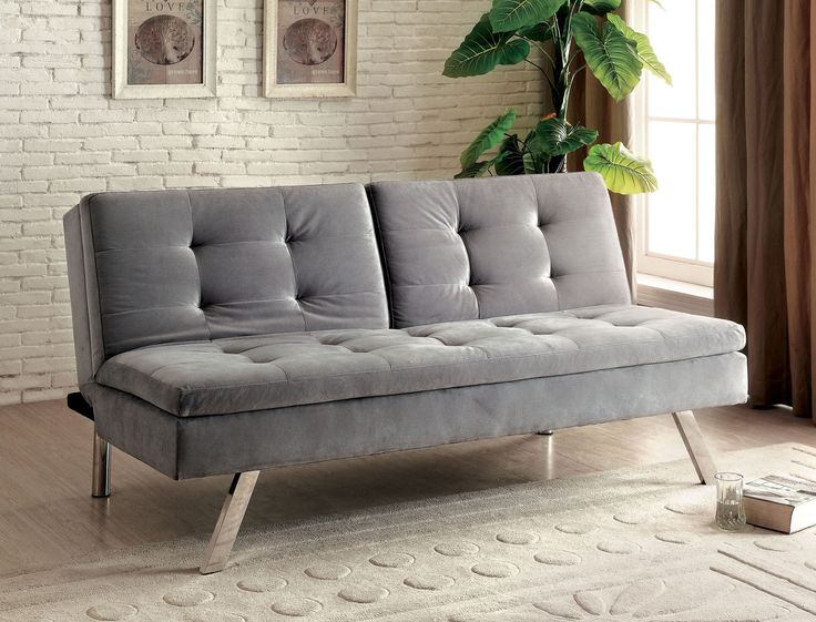 albertville split back fabric futon sofa bed - Futon Sofa Beds