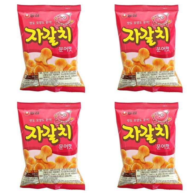 "NongShim ""Delicious Story"" Korean Snack Jagalchi(Seafood"
